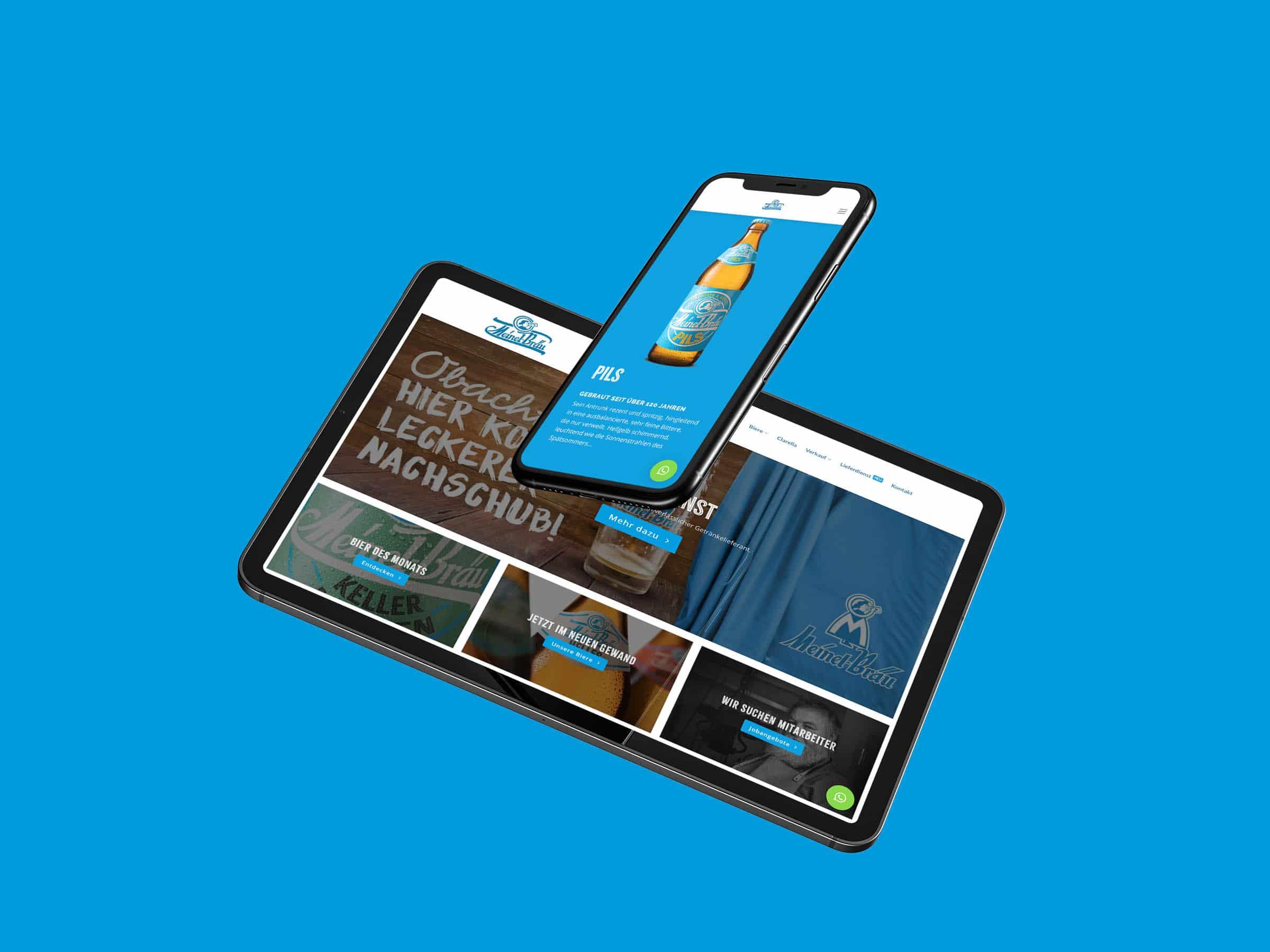 Meinel Bräu im Web – Relaunch 2019